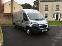 2018 PEUGEOT BOXER BLUE HDI 335 L3H2 PROFESSIONAL P/V NEW DELIVERY MILES ONLY PLUS VAT £15995.00