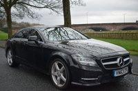 2013 MERCEDES-BENZ CLS CLASS 3.0 CLS350 CDI BLUEEFFICIENCY AMG SPORT 4d AUTO 265 BHP £13999.00