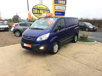 2016 FORD TRANSIT CUSTOM 290 TREND ECO- TECH IN IMPACT BLUE* *ONE OWNER**FFSH**
