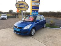 2012 SUZUKI SWIFT SZ3 1.2 5 DOOR **ONE LADY OWNER**ONLY 38,000 MILES**FSSH** £4995.00