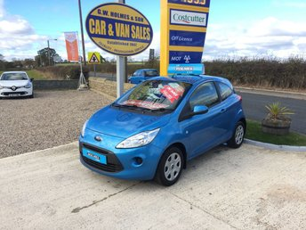 2009 FORD KA STYLE 1.2 3 DOOR **ONE LADY OWNER**A GENUINE 10,000 MILES**FFSH** £3995.00