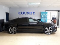 USED 2013 13 AUDI A7 3.0 TDI QUATTRO S LINE BLACK EDITION 5d AUTO 242 BHP * STUNNING CAR * SUPER SPEC *