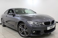 USED 2013 63 BMW 4 SERIES 3.0 435D XDRIVE M SPORT 2DR 309 BHP Sat Nav Full Service History FULL BMW SERVICE HISTORY + HEATED LEATHER SEATS + SATELLITE NAVIGATION + BLUETOOTH + PARKING SENSOR + CRUISE CONTROL + SUNROOF + CLIMATE CONTROL + MULTI FUNCTION WHEEL + 19 INCH ALLOY WHEELS