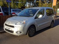 2013 PEUGEOT PARTNER 1.6 HDI TEPEE S 5dr, Service History £4870.00