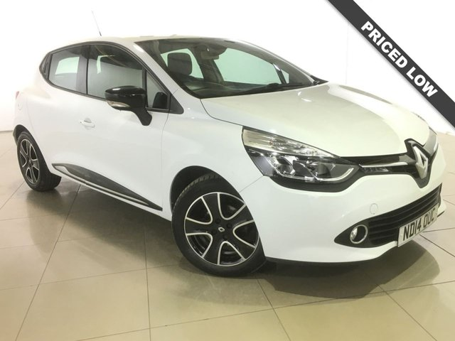 View our 2014 14 RENAULT CLIO 1.1 DYNAMIQUE MEDIANAV 5d 75 BHP