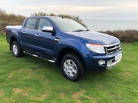USED 2014 63 FORD RANGER 3.2 LIMITED 4X4 DCB TDCI 4d 197 BHP **NO VAT**