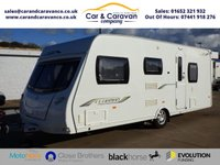 USED 2010 10 LUNAR CLUBMAN ES C34 4 BERTH 4 BERTH CARAVAN WITH MOTOR MOVER