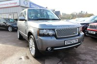 2012 LAND ROVER RANGE ROVER 4.4 TDV8 WESTMINSTER 5d AUTO 313 BHP £18995.00