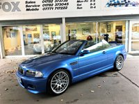 USED 2003 03 BMW M3 3.2 M3 2d 338 BHP BMW M3 3.2 M3 2d 338 BHP CONVERTIBLE IN ESTORIL BLUE