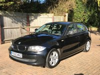 2010 BMW 1 SERIES 2.0 118D SE MANUAL BLACK DIESEL £2890.00