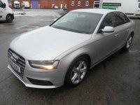 USED 2013 13 AUDI A4 2.0 TDI SE TECHNIK 4d 134 BHP