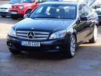 2010 MERCEDES-BENZ C CLASS 2.1 C250 CDI BLUEEFFICIENCY SE 4d AUTO 204 BHP £4999.00