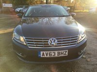 USED 2013 63 VOLKSWAGEN CC 2.0 GT TDI BLUEMOTION TECHNOLOGY 4d 138 BHP