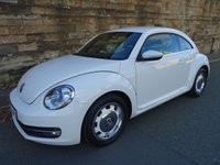 USED 2015 65 VOLKSWAGEN BEETLE 1.2 DESIGN TSI BLUEMOTION TECHNOLOGY 3d 104 BHP