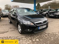 USED 2009 59 FORD FOCUS 1.6 ZETEC 5d 100 BHP NEED FINANCE? WE CAN HELP!