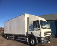 USED 2013 63 DAF TRUCKS CF 6.7 FA 65.250 18 TONNE, SLEEPER CAB, 28 FT BOX WITH TUCK UNDER LIFT