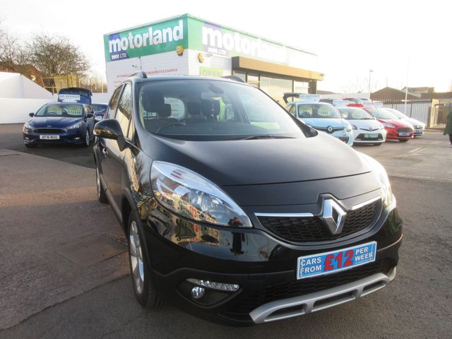 USED 2014 14 RENAULT SCENIC 1.5 XMOD DYNAMIQUE TOMTOM DCI EDC 5d AUTO 110 BHP £0 DEPOSIT FINANCE AVAILABLE....AUTOMATIC DIESEL.....FACTORY FITTED SAT NAV.