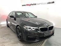 2017 BMW 5 SERIES 2.0 520D M SPORT 4d AUTO 188 BHP £27495.00