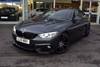 USED 2015 15 BMW 4 SERIES 2.0 425D M SPORT 2d AUTO 215 BHP FINANCE TODAY WITH NO DEPOSIT