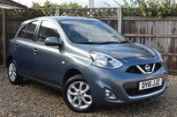 USED 2016 16 NISSAN MICRA 1.2 ACENTA 5d 79 BHP Free 12  month warranty