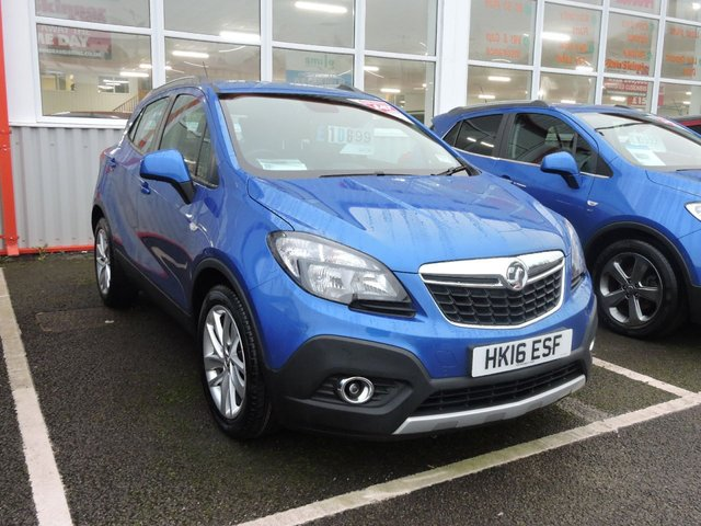 View our 2016 16 VAUXHALL MOKKA (17) exCLUSIV S/S 5d 138 BHP