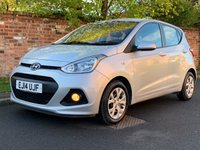 USED 2014 14 HYUNDAI I10 1.2 SE 5d 86 BHP 2 OWNERS, FULL SERVICE HISTORY, MOT NOV 19.  £30 ROAD TAX, EXCELLENT CONDITION,  ALLOYS, CRUISE, REAR SENSORS, E/WINDOWS, R/LOCKING, FREE  WARRANTY, FINANCE AVAILABLE, HPI CLEAR, PART EXCHANGE WELCOME,