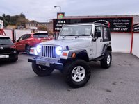 2003 JEEP WRANGLER 4.0 GRIZZLY SPORT 174 BHP £SOLD