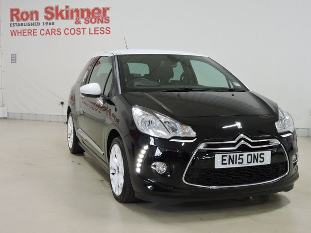 View our 2015 15 CITROEN DS3 1.6 E-HDI DSTYLE ICE 3d 91 BHP