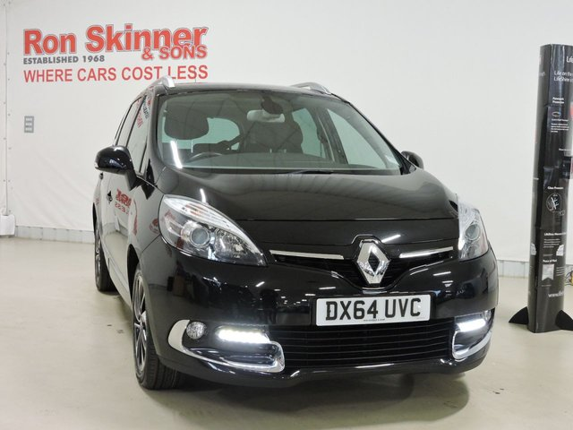 View our 2014 64 RENAULT GRAND SCENIC 1.6 DYNAMIQUE TOMTOM BOSE PLUS DCI S/S 5d 130 BHP