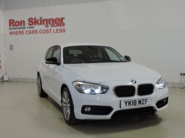 View our 2018 18 BMW 1 SERIES 1.5 118I SPORT 5d 134 BHP