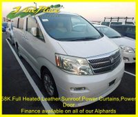 2003 TOYOTA ALPHARD Alphard MZ G Edition. 7 Seats,Heated Leather,Sunroofs,Power Curtains £8000.00