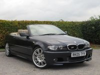 USED 2005 05 BMW 3 SERIES 2.0 318CI SPORT 2d AUTOMATIC * SPORT CONVERTIBLE * FULL LEATHER INTERIOR * AUTOMATIC *