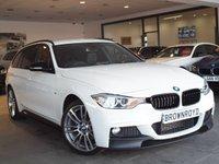USED 2015 15 BMW 3 SERIES 2.0 320D XDRIVE M SPORT TOURING 5d AUTO 181 BHP M PERFROMANCE STYLING+X-DRIVE