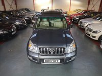 2007 TOYOTA LAND CRUISER 3.0 D-4D INVINCIBLE 5d AUTO £11000.00