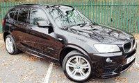 2013 BMW X3 2.0 XDRIVE20D M SPORT 5d AUTO 181 BHP £17000.00