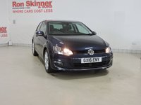 USED 2016 16 VOLKSWAGEN GOLF 1.4 GT TSI ACT BLUEMOTION TECHNOLOGY 3d 148 BHP