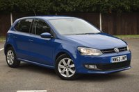 USED 2013 63 VOLKSWAGEN POLO 1.2 MATCH EDITION 5d 59 BHP ULTRA LOW MILES ONLY 28K ++++