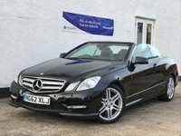 2012 MERCEDES-BENZ E CLASS 3.0 E350 CDI BLUEEFFICIENCY SPORT 2d AUTO 265 BHP £16495.00