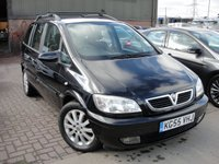 USED 2005 55 VAUXHALL ZAFIRA 1.8 ELEGANCE 16V 5d 124 BHP ANY PART EXCHANGE WELCOME, COUNTRY WIDE DELIVERY ARRANGED, HUGE SPEC