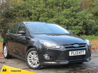 USED 2013 13 FORD FOCUS 1.6 TITANIUM ECONETIC TDCI 5d 104 BHP REAR REVERSING CAMERA, BLUETOOTH CONNECTION