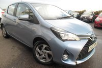 USED 2015 65 TOYOTA YARIS 1.5 HYBRID ICON 5d AUTO 73 BHP VIEW AND RESERVE ONLINE OR CALL 01527-853940 FOR MORE INFO.