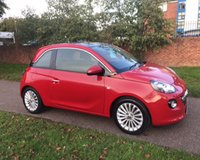 USED 2014 14 VAUXHALL ADAM 1.4 GLAM 3d 85 BHP FULL SERVICE HISTORY: