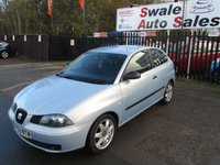 USED 2003 52 SEAT IBIZA 1.4 SPORT 16V 3d 99 BHP FINANCE AVAILABLE FROM £13 A WEEK OVER TWO YEARS - SEE FINANCE LINK