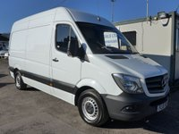 2015 MERCEDES-BENZ SPRINTER 316 CDI MWB HI ROOF, 160 BHP [EURO 5], AIR CON, ELECTRIC PACK £12495.00