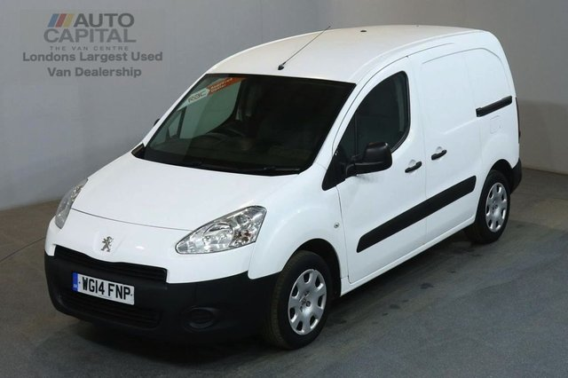 2014 14 PEUGEOT PARTNER 1.6 HDI PROFESSIONAL L1 625 75 BHP SWB AIR CON AIR CONDITIONING FULL S/H