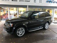 USED 2012 12 LAND ROVER RANGE ROVER SPORT 3.0 SDV6 HSE 5d AUTO 255 BHP LAND ROVER RANGE ROVER SPORT 3.0 SDV6 HSE 5d AUTO 255 BHP