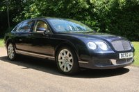 2006 BENTLEY CONTINENTAL FLYING SPUR 6.0 FLYING SPUR 4 SEATS 4d AUTO 550 BHP £20000.00