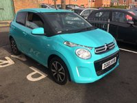 USED 2015 65 CITROEN C1 1.0 FLAIR ETG 5d AUTO 68 BHP ONLY 4448 MILES AND FULL HISTORY!..CHEAP TO RUN, £0 TAX, LOW CO2 EMISSIONS AND EXCELLENT FUEL ECONOMY! EXCELLENT SPECIFICATION INCLUDING REVERSE CAMERA, ALLOY WHEELS, BLUE TOOTH, MEDIA, AND AUXILLIRY INPUT AND USB!