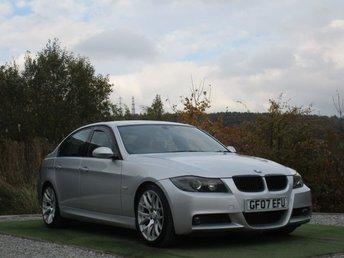 2007 BMW 3 SERIES 2.0 320D M SPORT 4d 161 BHP £3790.00