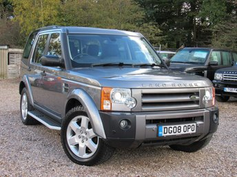 2008 LAND ROVER DISCOVERY 2.7 3 TDV6 HSE 5d AUTO 188 BHP £10950.00